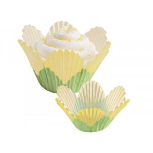 Wilton Muffinsform Yellow Petal