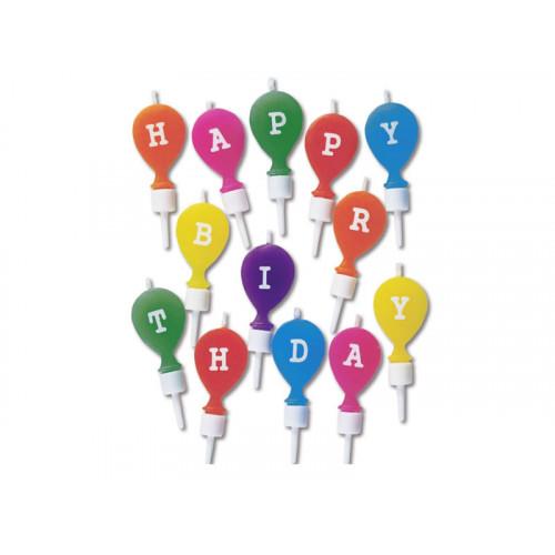 Städter Tårtljus, Happy Birthday