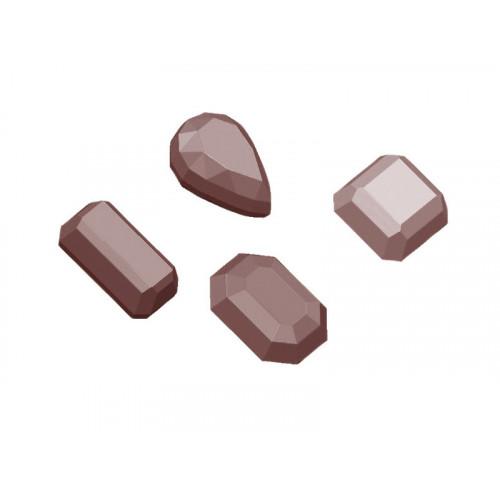 Chocolate World Pralinform Ädelstenar