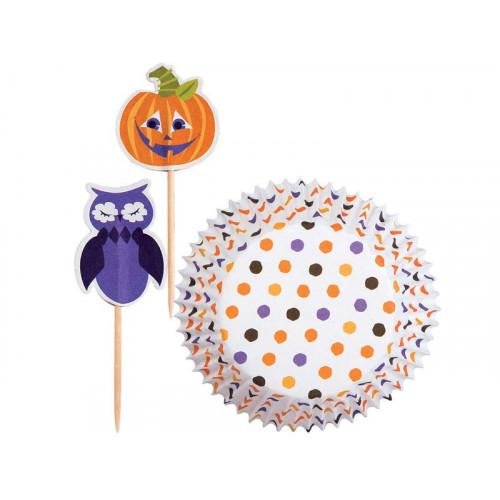 Wilton Muffinsform Polka Dot Pumpkin Combo