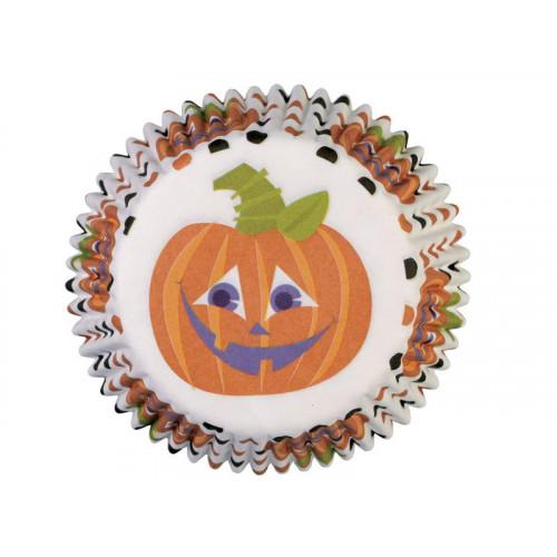 Wilton Muffinsform Polka Dot Pumpkin