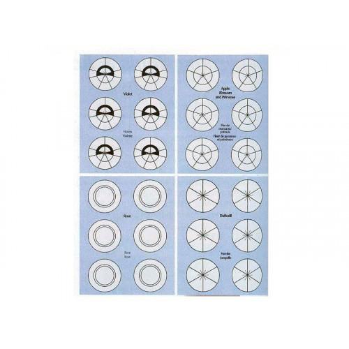 Wilton Blomnålsmallar Stickers