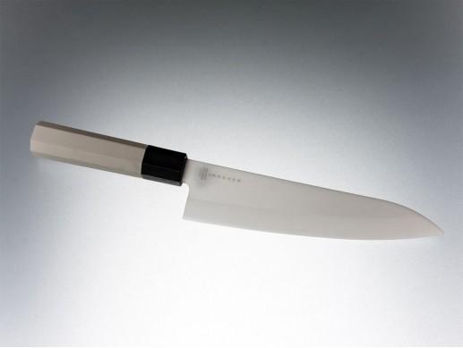 Satake Keramisk Hi Tech Kockkniv, 18 cm