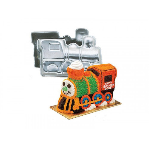 Wilton Bakform, 3D Train Cake Pan