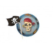 Wilton Muffinsform Pirate Combo