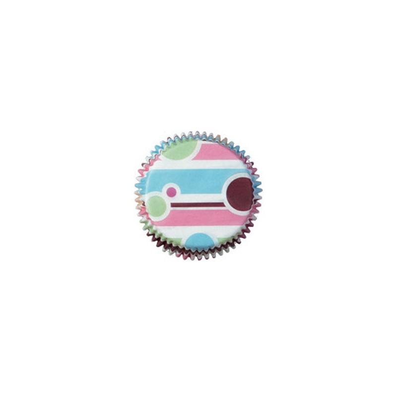 Muffinsform Bubble Stripes - Wilton