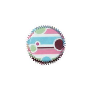 Wilton Muffinsform Bubble Stripes