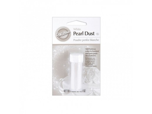 Wilton White Pearl Dust