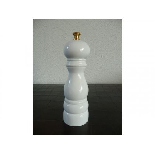 Pepparkvarn 18 cm, vit högglans - Lidrewa