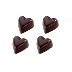 Chocolate World Pralinform Rundat Hjärta