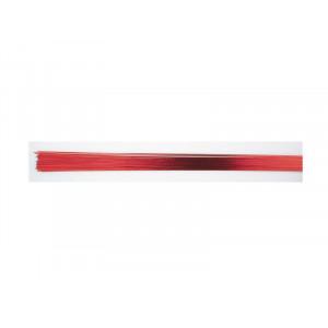 Culpitt Gum Paste Wire, metalltråd, metallicröd