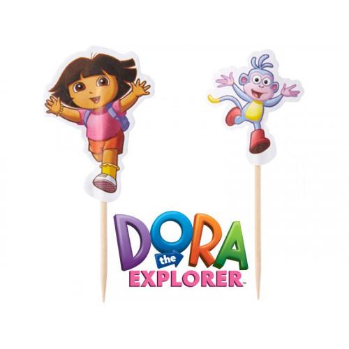 Tårtdekoration Dora the Explorer - Wilton