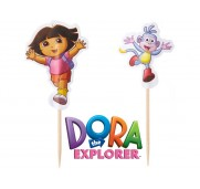 Tårtdekoration Dora the Explorer - Wilton