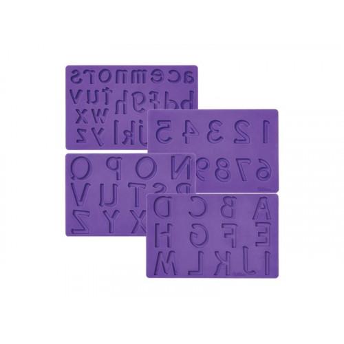 Wilton Silikonform, Bokstäver och siffror