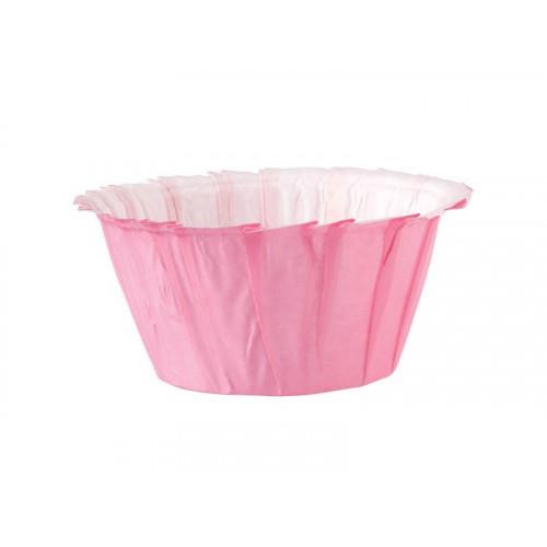 Wilton Muffinsform Pink Ruffled