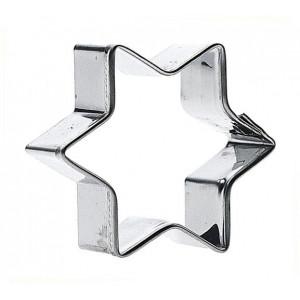 Pepparkaksstjärna - 4 cm