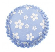 Muffinsform Blossom China Blue