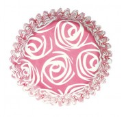 Muffinsform Pink Rose - Culpitt