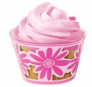 Cupcake Wraps Pink Party - Wilton