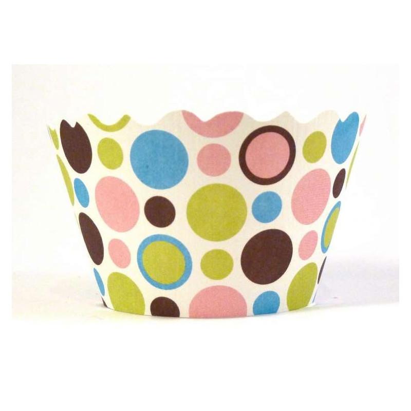 Cupcake Wraps Polkadot - Swift