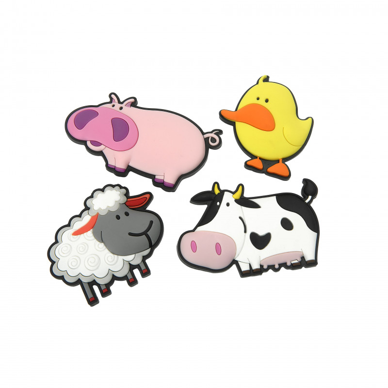 Kylskåpsmagneter Farmyard - Swift