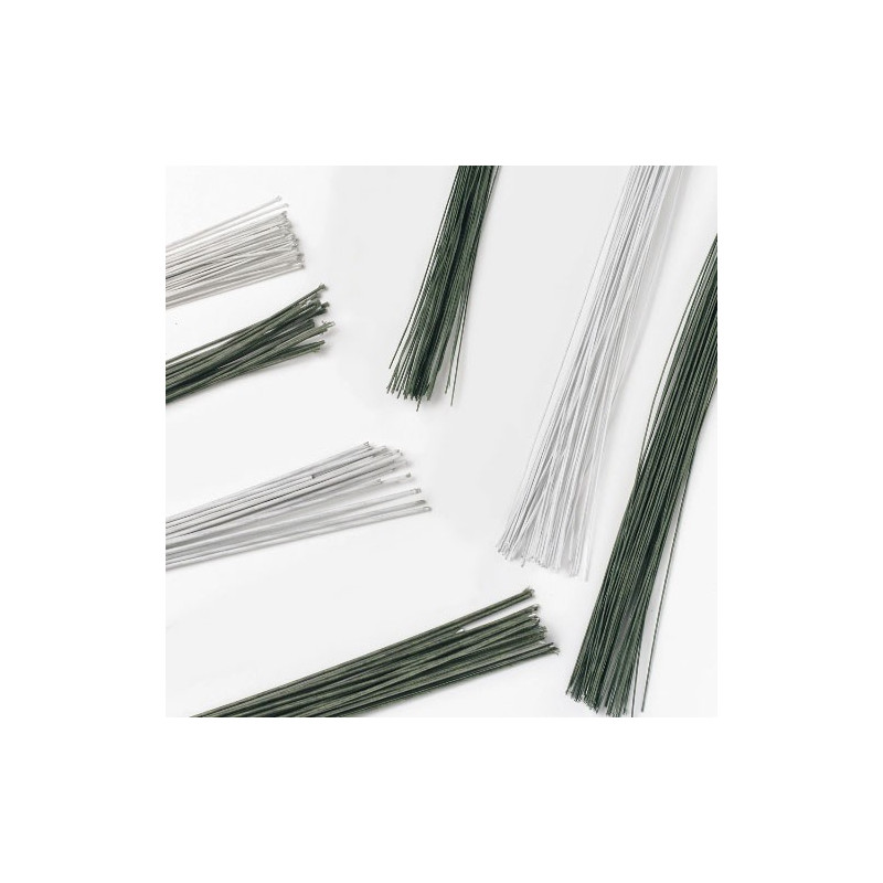 Gum Paste Wire, metalltråd 0,25 mm, grön - Culpitt
