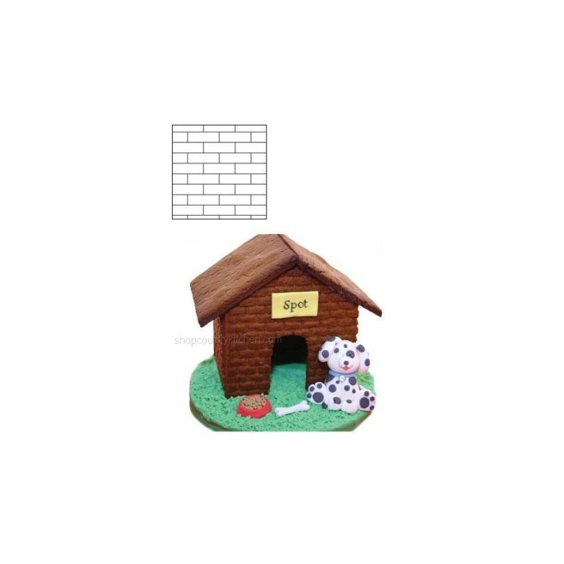 Kavelmatta Texturmatta Brick - Autumn Carpenter