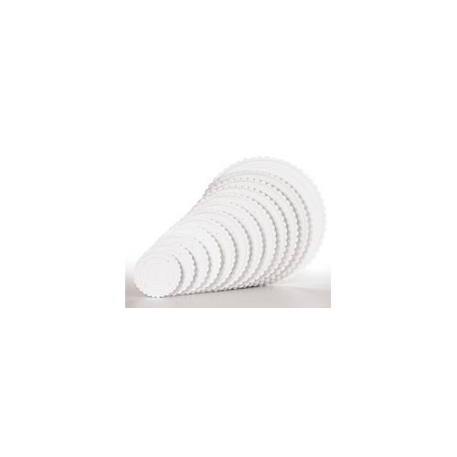 Separatorplatta vågig kant, 15 cm - Wilton