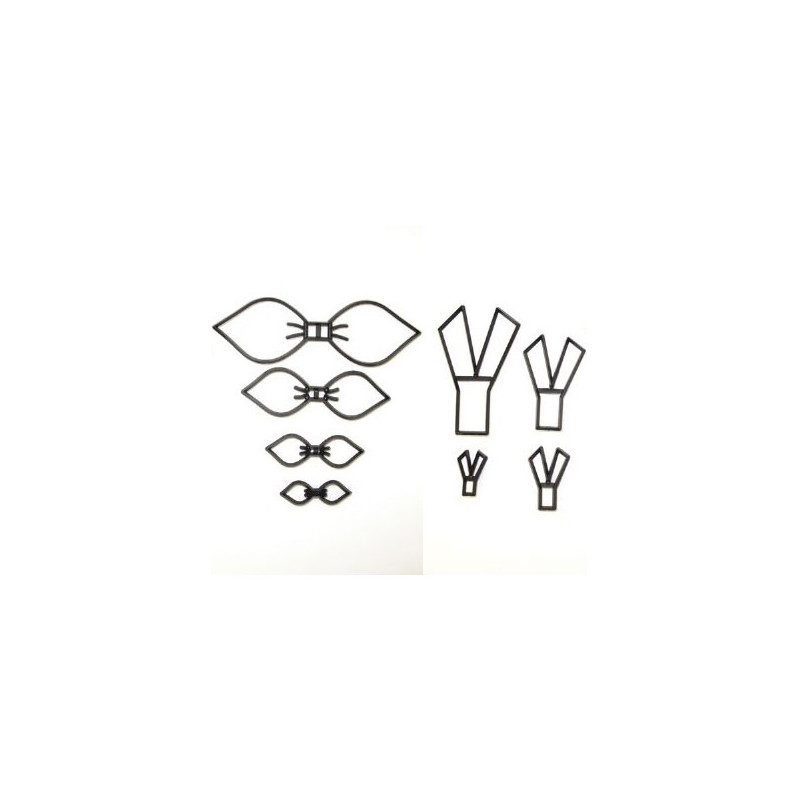 Utstickare/Embosser Make a bow set - Patchwork Cutters