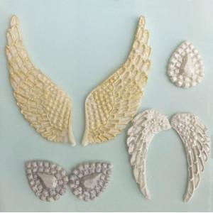 Karen Davies Silikonform, Angel Wings