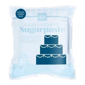 Squires Kitchen Sockerpasta, rymdblå