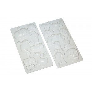 Kitchen Craft Pralinform plast, Halloween