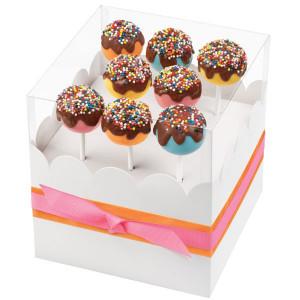 Wilton Cake pops Presentask