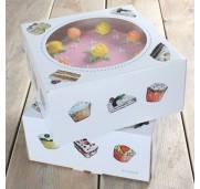 Tårtkartong 2-pack, 26 cm - FunCakes