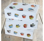 Cupcake box 3-pack - FunCakes