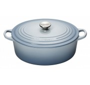 Le Creuset Gjutjärnsgryta oval, Coastal Blue, 27 cm, 4,1 l