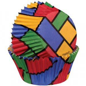 Wilton Minimuffinsform Colorblock