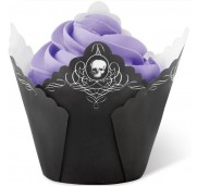 Muffinsform Black Skull - Wilton