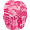 Wilton muffinsform, rosa kamouflage