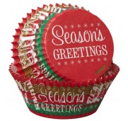 Wilton Muffinsform Season's Greetings