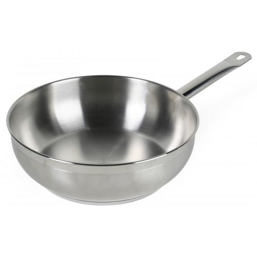 Exxent Sauteuse, rostfritt stål, 20 cm, 1,8 l