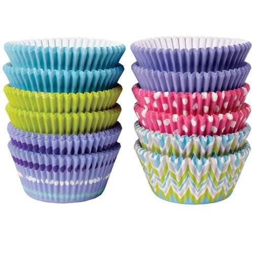 Wilton Muffinsform Mix, Pastel, 300 st