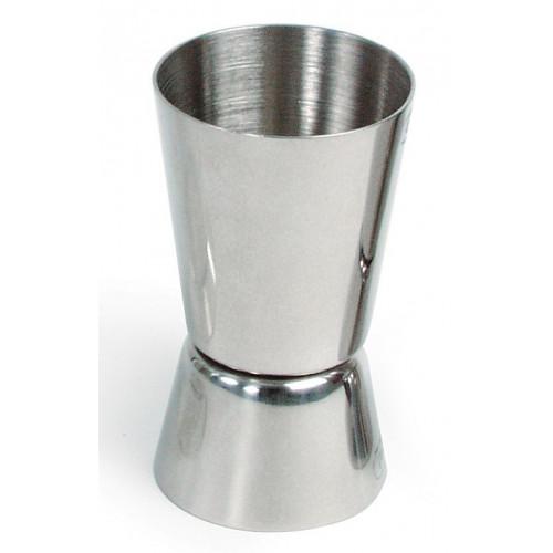 Barmått, drinkmått rostfritt stål