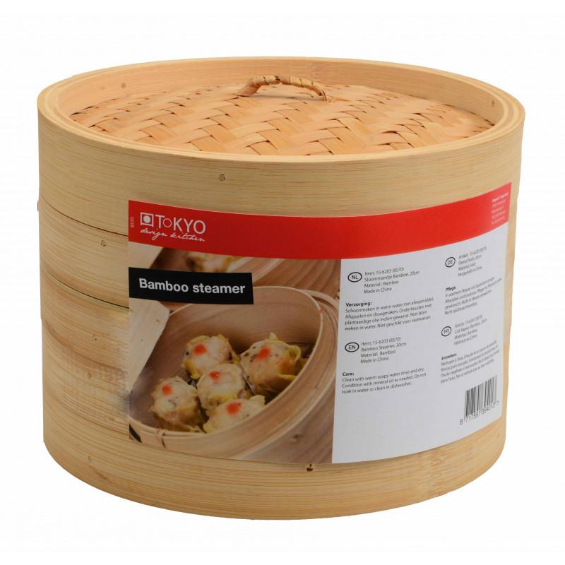 Tokyo Design Kitchen Ångkokare i bambu, 30,5 cm