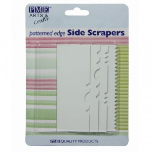 PME Side Scrapers, mönstrade