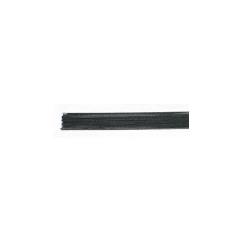 Culpitt Gum paste wire, metalltråd, svart