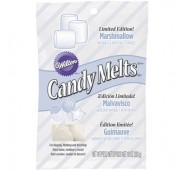 Wilton Candy Melts, vit, marshmallowsmak
