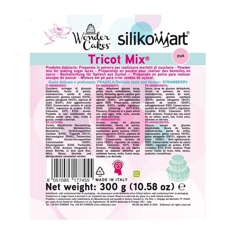 Silikomart Tricot Mix, rosa, 300 g