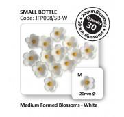PME Sockerblommor, medium, vita