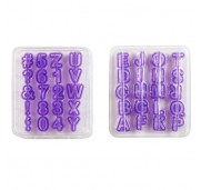 Wilton Utstickare bokstäver och siffror, 40 delar